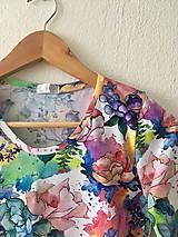 Iné oblečenie - Kvietkované body - 10329988_