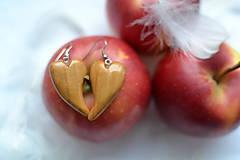 Náušnice - Náušnice - Láska s chuťou jabĺk - 10329999_