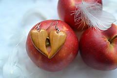 Náušnice - Náušnice - Láska s chuťou jabĺk - 10330001_