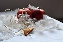 Náušnice - Náušnice - Láska s chuťou jabĺk - 10330003_