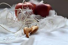 Náušnice - Náušnice - Láska s chuťou jabĺk - 10330005_