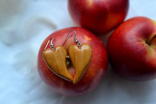 Náušnice - Láska s chuťou jabĺk