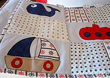Úžitkový textil - Námornícka zástena  - 10328365_