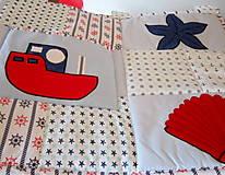 Úžitkový textil - Námornícka zástena  - 10328366_