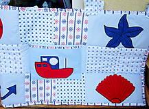 Úžitkový textil - Námornícka zástena  - 10328367_