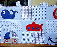 Úžitkový textil - Námornícka zástena  - 10328368_