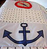 Úžitkový textil - Námornícka zástena  - 10328370_