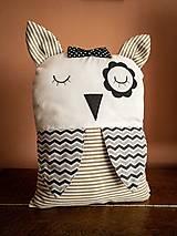 Úžitkový textil - Vankúšik do detskej postieľky - 10330441_