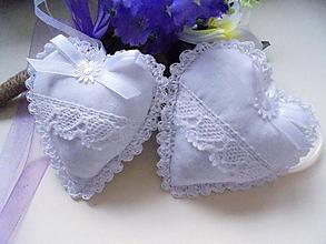 Darčeky pre svadobčanov - Svadobné srdiečka ako darček-2 - 10328234_