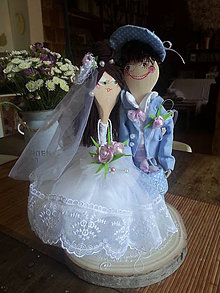 Darčeky pre svadobčanov - Môj s mojou z varešky - 10328642_