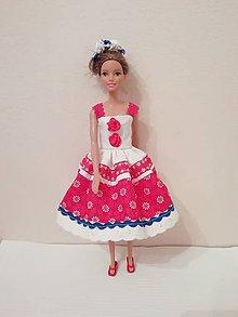 Hračky - Šaty pre bábiku Barbie - 10335396_
