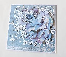 Papiernictvo - pohľadnica s kvetmi - 10332978_