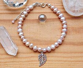 Náramky - ♥ Lovely - náramek z perel - 10333865_