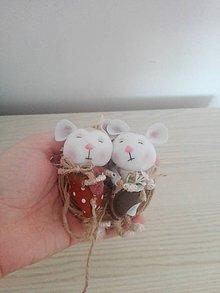 Dekorácie - Kamaráti myšky. - 10334376_