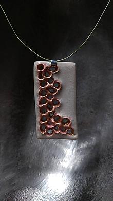 Náhrdelníky - Vybublané v perleti - 10335225_