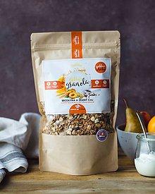 Potraviny - Gabby´s granola - broskyňa a zelený čaj špaldové vločky - 10332707_