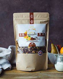 Potraviny - Gabby´s granola - kakao a pomaranč (bezlepková) - 10332792_