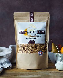 Potraviny - Gabby´s granola - kešu orechy a káva (bezlepková) - 10332807_