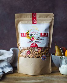 Potraviny - Gabby´s granola - jahoda a mandle (bezlepková) - 10332812_