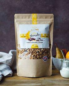 Potraviny - Gabby´s granola - horká čokoláda a banán (bezlepková) - 10332819_