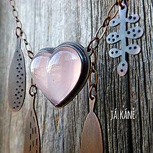 Náhrdelníky - Až do nebe - náhrdelník - růženín 122 - 10333600_