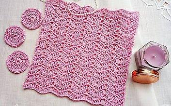 Úžitkový textil - uteráčik na tvár + odličovače - 10332675_