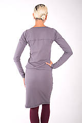 Šaty - RUE DE VALOIS... grey dress - 10332482_