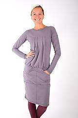 Šaty - RUE DE VALOIS... grey dress - 10332484_
