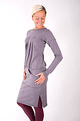 Šaty - RUE DE VALOIS... grey dress - 10332485_