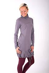 Šaty - PONT DES ARTS... grey dress - 10335006_