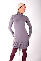 Šaty - PONT DES ARTS... grey dress - 10335007_