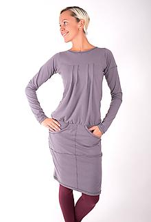 Šaty - RUE DE VALOIS... grey dress - 10332486_