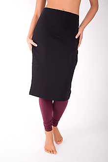Sukne - RUE SAINT-FLORENTIN... black skirt - 10335076_