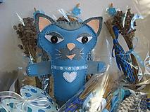 Bábiky - Prvá láska (Mačka Matilda a kocúr Florián) - 10333924_