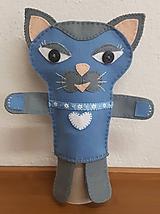 Bábiky - Prvá láska (Mačka Matilda a kocúr Florián) - 10333926_