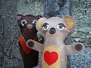 Bábiky - Zosúladení (Maco Laco a medvedica Alica) - 10332970_