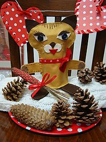 Bábiky - Králi dobrej zábavy (Cica Mica a kocúr Fúzik) - 10333705_