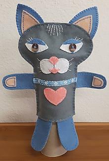Bábiky - Prvá láska (Mačka Matilda a kocúr Florián) (Mačka Matilda) - 10333928_