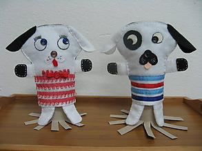 Bábiky - Verní spoločníci (Frčko a Ňufka) - 10334183_