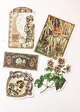 """Papier - Set nálepiek """"Vintage"""" - 10332586_"""