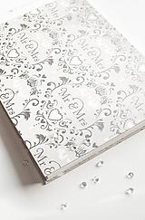 """Papiernictvo - Svadobný album """"Mr & Mrs"""" / skladom - 10332861_"""