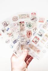"""Papier - Nálepky """"cestovateľ"""" - 10332963_"""