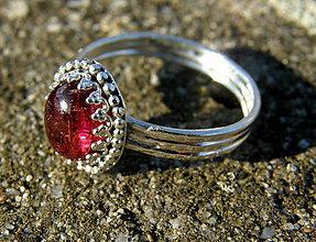 Prstene - Rubelitový - 10335226_