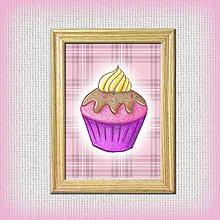 Obrázky - Slivkový koláčik káro - 10333039_