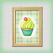 Obrázky - Hruškový koláčik káro - 10333040_