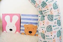 Úžitkový textil - HAJA Easy... bočný vankúš... detské motívy - 10339515_