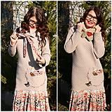 Šaty - Zimné šaty 3x inak...ZĽAVA! - 10337033_