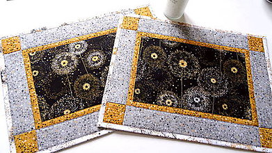Úžitkový textil - Dandelion  No.2 ... prestieranie 2 ks - 10338580_