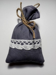 Úžitkový textil - Vrecúško na levanduľu 24 - 10338809_