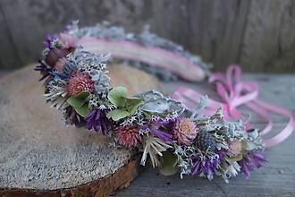 Ozdoby do vlasov - Kvetinový venček - 10338443_